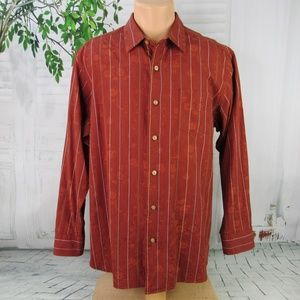 Tommy Bahama men's L button front shirt